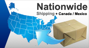 Nationwide Shipping plus Canada and Mexico